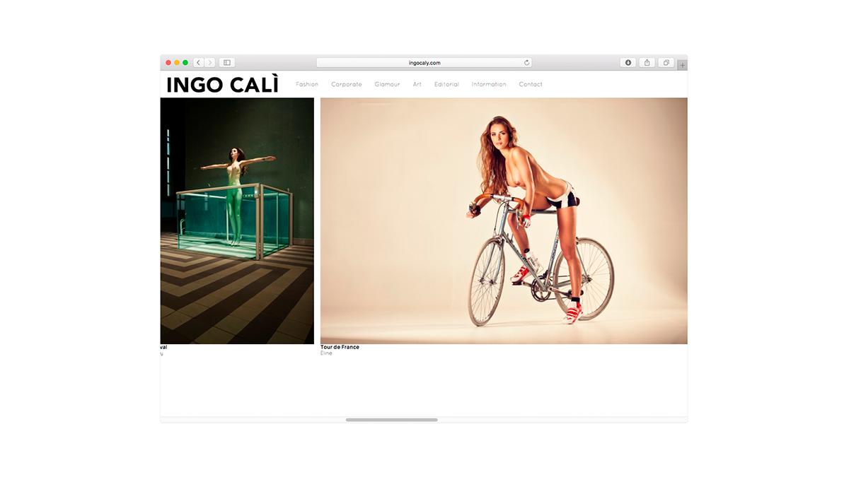 Ingo Calì Website