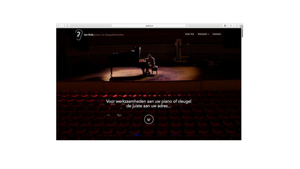 Jan Krüs Website