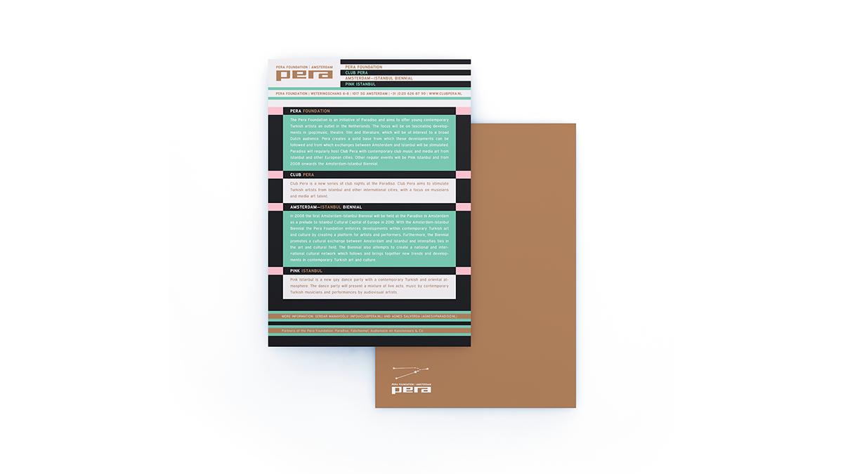 Pera Foundation Flyer