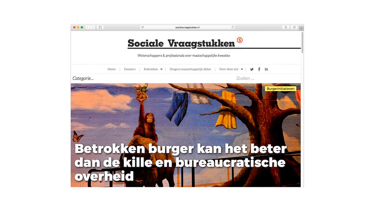 Sociale Vraagstukken Website